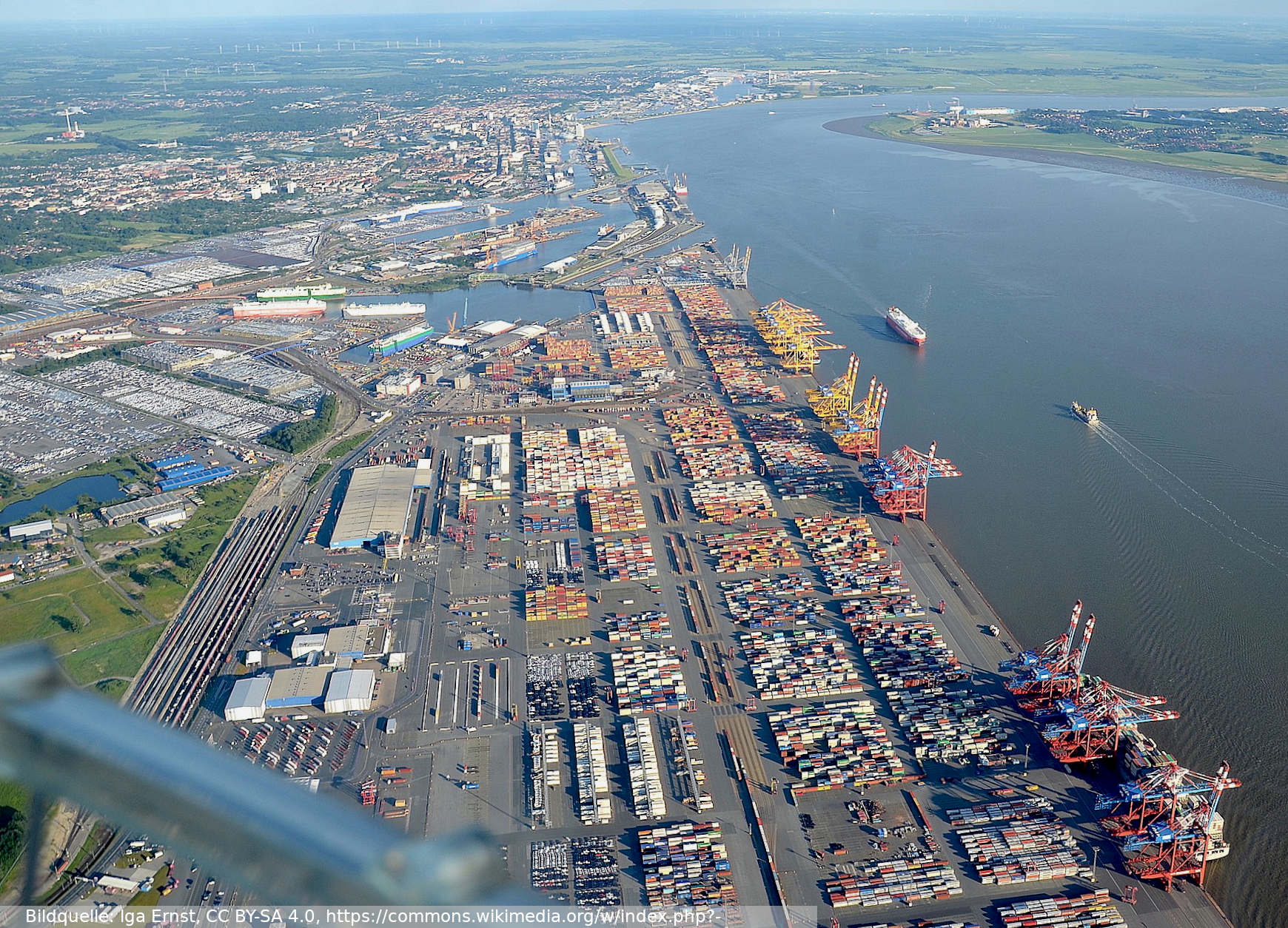 Container Terminal Bremerhaven and Autoport 2019